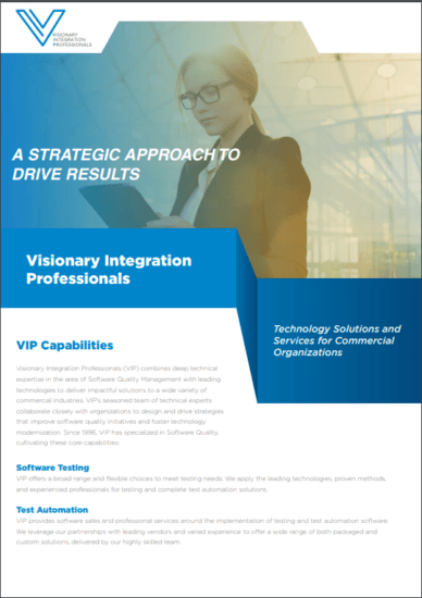 Visionary Integration Professionals commercial tech consultants