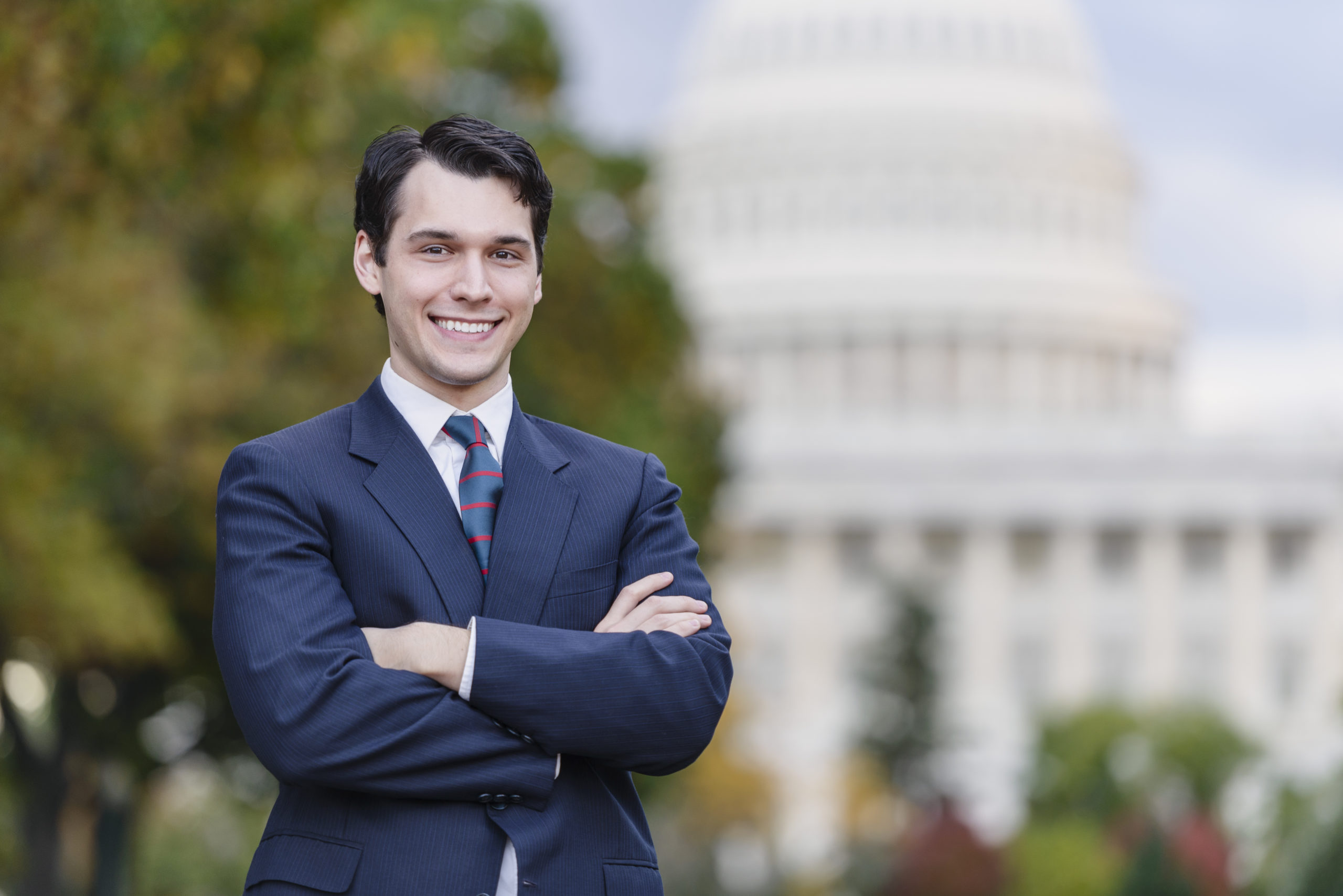 young professional in DC