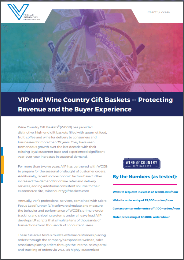 Wine Country Gift Baskets Case Study